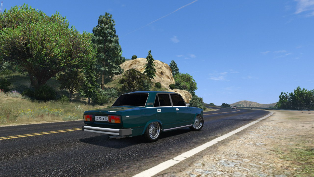 ВАЗ-2105 Жигули для GTA V - Скриншот 2