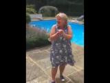 У его мамы отличная реакция