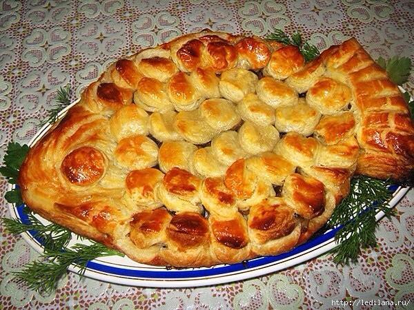 пирожки с рыбным фаршем рецепт с фото
