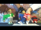 Танцы на пальцах  Fingers breakdance - Amigurumi Killers Crew HD