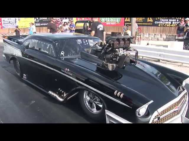 Loudest Blower Whine EVER!?!? 383ci SBC '57 Chevy Pro Mod