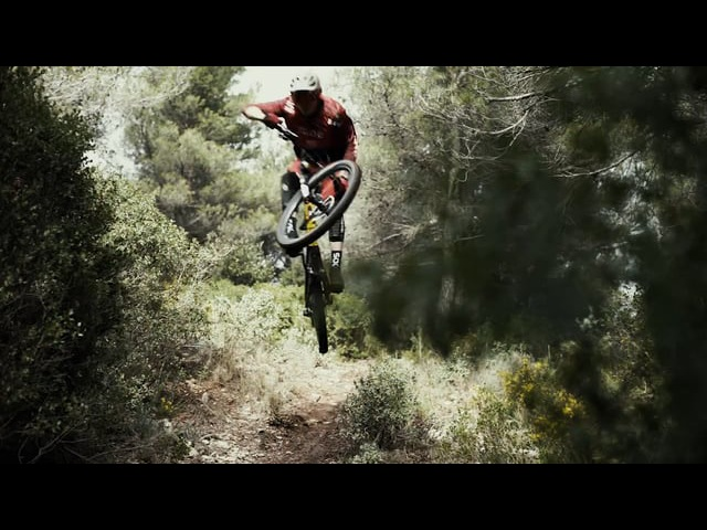 Bryan Regnier shot Real Time on his Enduro Mountain Bike while training at home.