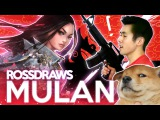 RossDraws: Epic MULAN! (Disney)