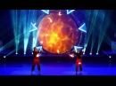 Niko Kasmir fire staff juggling act