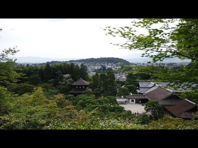 4K 銀閣寺・慈照寺 Ginkaku ji temple 京都寺社巡り2015