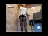 Mature in black stockings and heels hot mom milf big ass tits