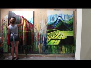 Amy Shackleton - Painting Timelapse