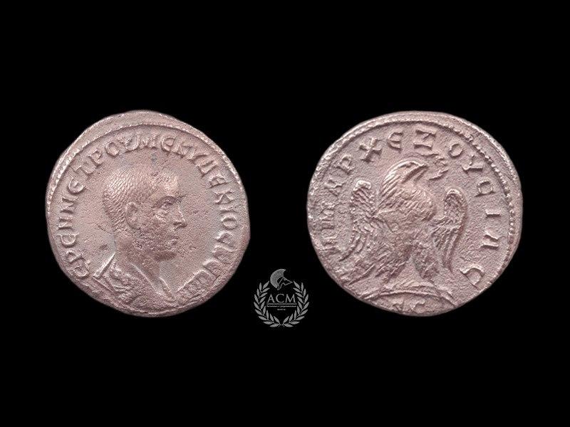 Тетрадрахма. Рим. Геренний Этруск (251 г.)