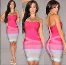 Womens Strapless Dress