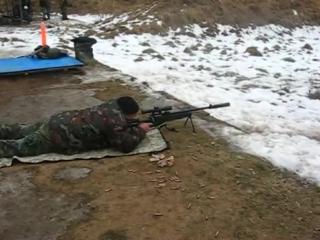 Снайперской винтовкой ВДВ России СВ-98. SV-98