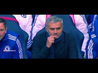 Форвард «Челси» Диего Коста бросил манишку в Жозе Моуринью