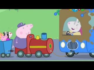 Свинка Пеппа (Peppa Pig) мультик на русском 2 сезон 38 серия - Дедушкин паровозик