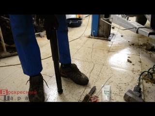 Замена задних амортизаторов Suzuki Grand Vitara