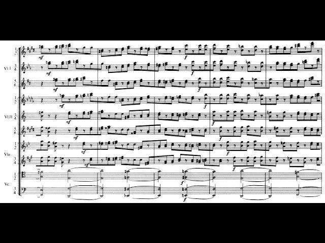 Alfred Schnittke - Concerto Grosso No. 1, for 2 violins, harpsichord, prepared piano 21 strings (1977)