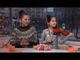 Маша Кузнецова, Кристина Аглинц - Доброе утро - Первый канал
