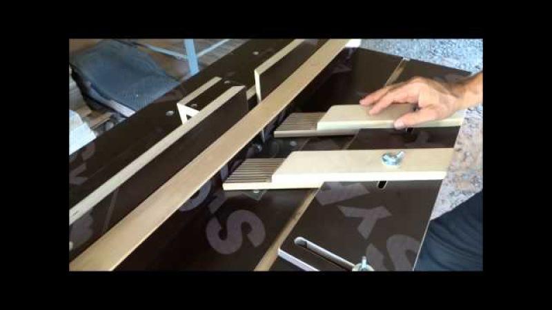 Фрезерный стол из ручного фрезера. Вариант 1.