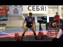 Basov Dmitriy deadlift RAW 280kg@74kg, Championship of Russia 2015
