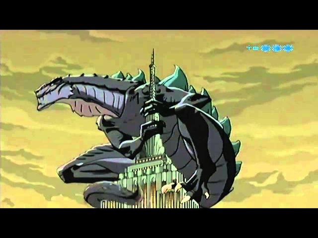 Годзилла Godzilla The Series Заставка Заставки Intro Intros Opening Openings