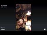 John Mayer on Periscope - Fillin' It - 8262015