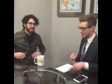 Darren backstage interview at Good Day DC | Feb. 25th 2016