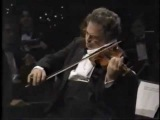 Itzhak Perlman plays Schubert's serenade accompanied by Rohan de Silva on the piano