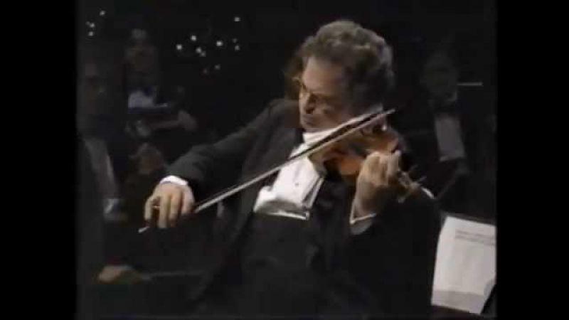 Itzhak Perlman plays Schubert's serenade accompanied by Rohan de Silva on the piano