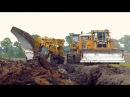 Worlds biggest plow Deep ploughing Caterpillar D8H /E /D6R 650HP Bijker diepploegen
