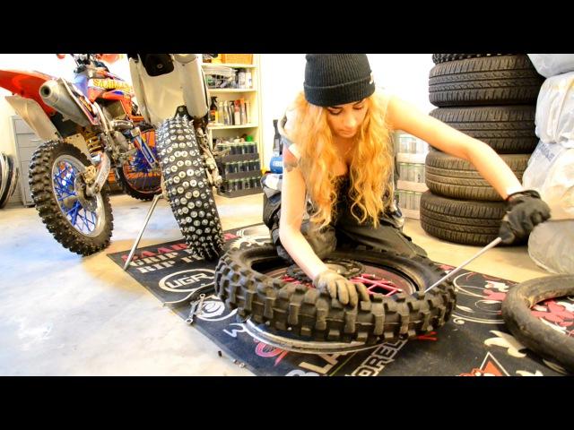 Saaraazh Tutorial - How To Change A MotorcycleMX Tire