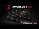 New Kawasaki Z800 & Z1000 Sugomi Edition MY16 - INSTINCT HAS A SIGN