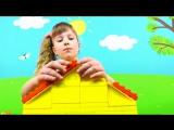 Свинка Пеппа Конструктор Любимый домик Пеппы Игровой набор Собираем играем Peppa Pig Haus