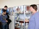 Заведующая отделом специальных коллекций ЦСПИ Ирина Новиченко представляет выставку