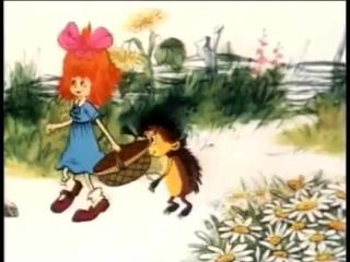 Мультики для самых маленьких _ Ежик и девочка _ Советские мультфильмы