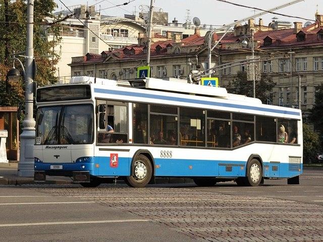 26 апреля движение общественного транспорта ограничат на Тверской в Москве