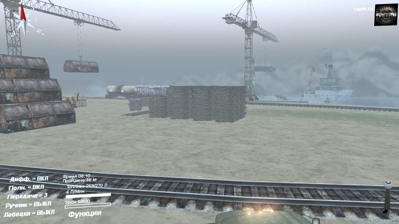 """Карта """"Долгая дорога"""" для 03.03.16 для Spintires - Скриншот 2"""