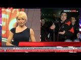 Эксклюзив. Эксклюзивное интервью Саакашвили на горнолыжном курорте