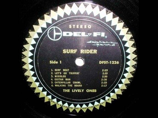 The Lively Ones - Surf Rider