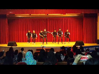 [291115] AMBUSH (Monsta X Dance Cover) - Intro+Trespass+Hero+Sugar Free @Asian Culture 2015 (Final)