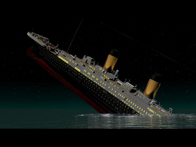 NEW and IMPROVED! - Titanic - Death of a Titan - T.H.Cooney Art