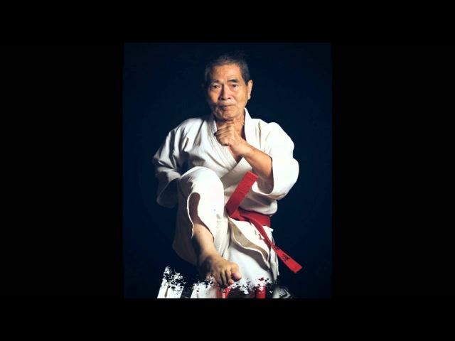 Hanshi Morinobu Maeshiro 10th Dan - Kata Kusanku Dai
