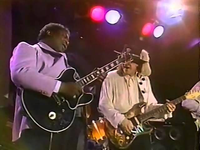 Stevie Ray Vaughan BB King Texas Flood Live In New Orleans Jazz Heritage Festival