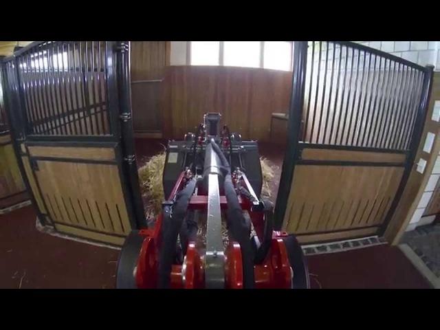 Weidemann – Der neue 1160 eHoftrac® Einsatz auf dem Pferdhof