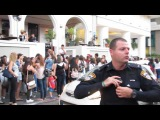 James Maslow (James Diamond), from Big Time Rush in Tel Aviv, Israel. Pay attention to the fans
