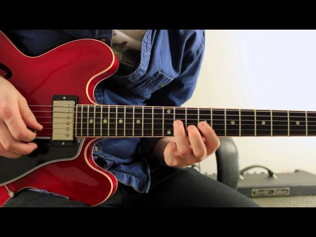 Learn Bebop Guitar - Jazz Guitar Lesson - John Coltrane 2-5-1 Licks (Part 1)