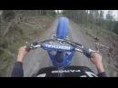 Yamaha YZF 250 - Wheelie's, Stunts and Jumps (Go Pro HERO HD)