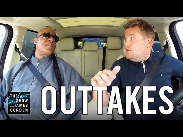 Stevie Wonder Carpool Karaoke OUTTAKES