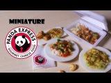 Китайская еда из полимерной глины Miniature Panda Express - Polymer Clay Tutorial