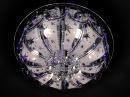 Обзор люстры с пультом музыкальная. Буше АРТ. 1-1999-6-CR-LED M Y E14