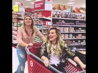 Hilary Duff and Lauren In search of
