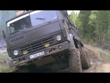 Российские грузовики по бездорожью, Урал, Камаз, Зил-131, настоящие монстры