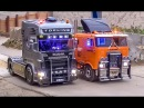RC Truck Fun More RC Glashaus Action amazing R C models